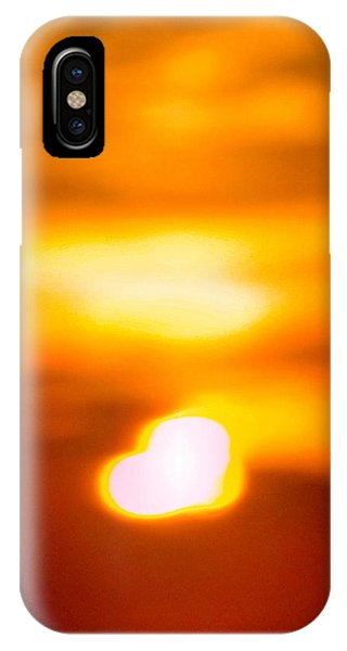 Heart Of The Day IPhone Case