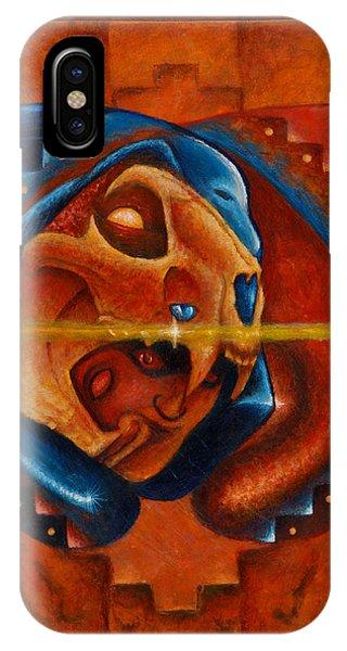 Heart Of The Jaguar Priest IPhone Case