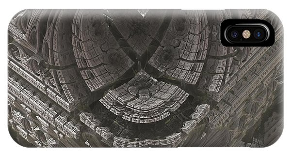 Science Fiction iPhone Case - Heart-shaped Mandelbox by Jacob Bettany