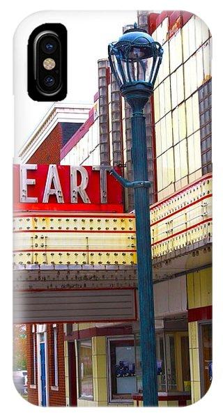 Heart Theatre Effingham Illinois  IPhone Case