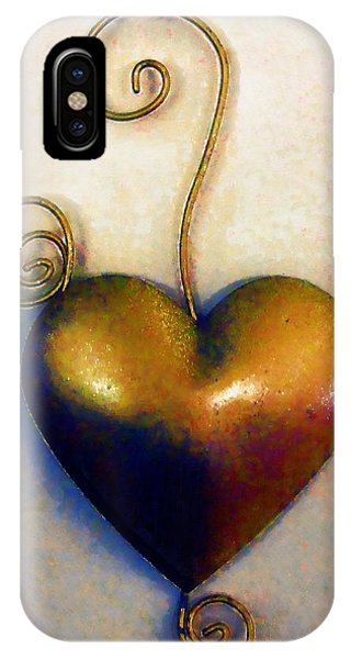 Heartswirls IPhone Case