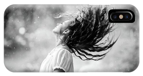 Hair iPhone Case - Heat by Evelina Petkova