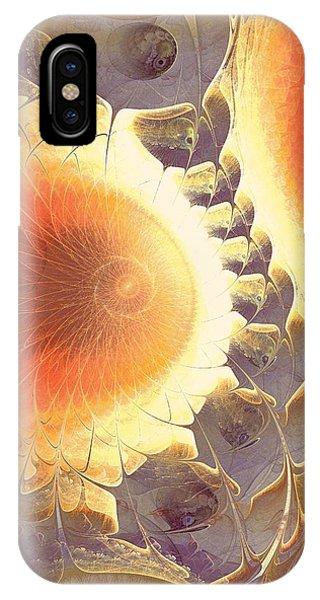 Violet Flame iPhone Case - Heat Shield by Anastasiya Malakhova
