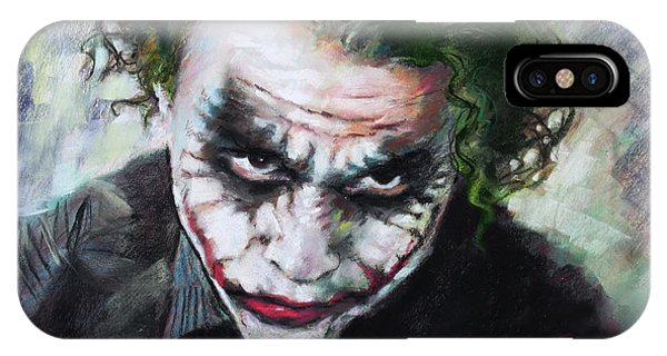 Heath Ledger The Dark Knight IPhone Case