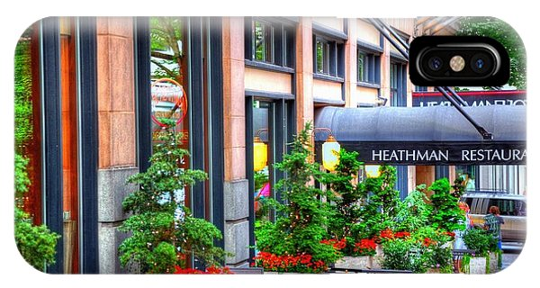 Heathman Restaurant 17368 IPhone Case