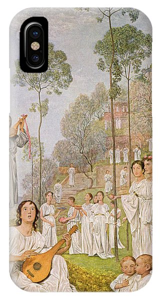 Strum iPhone Case - Heaven by Hans Thoma