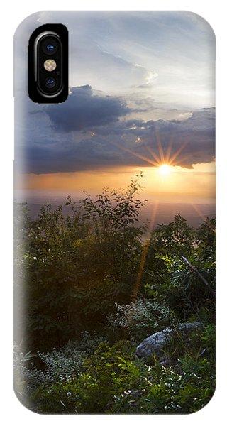 Chilhowee iPhone Case - Heaven In The Smokies by Debra and Dave Vanderlaan