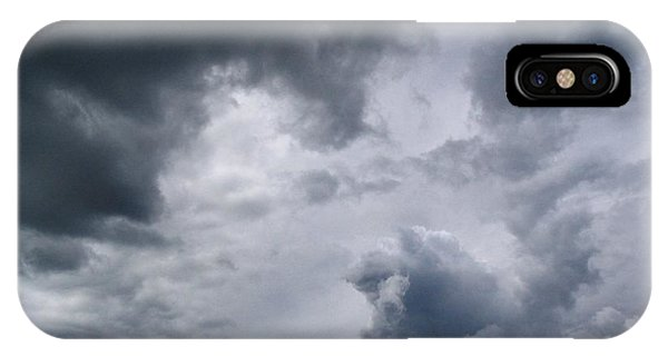 Heaven Looks Angry IPhone Case