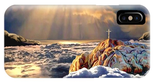 Heavenly Ascension IPhone Case