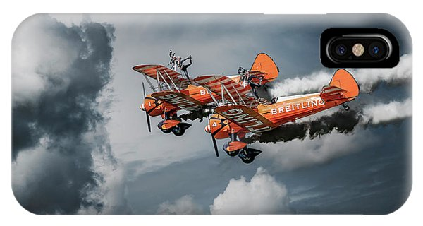 Airplanes iPhone Case - Heavenly Ballet by Leon