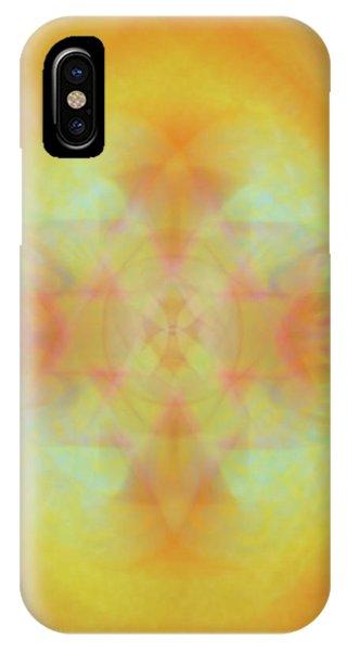 Heavenly Cross IPhone Case