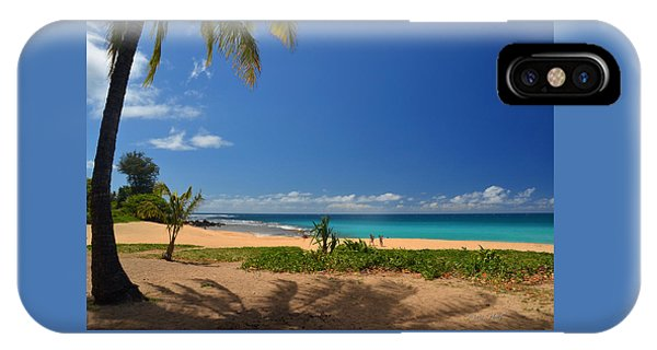 Heavenly Haena Beach IPhone Case