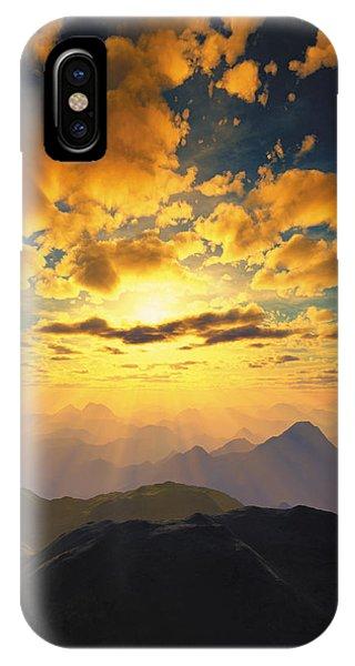 Heaven's Breath 27 IPhone Case