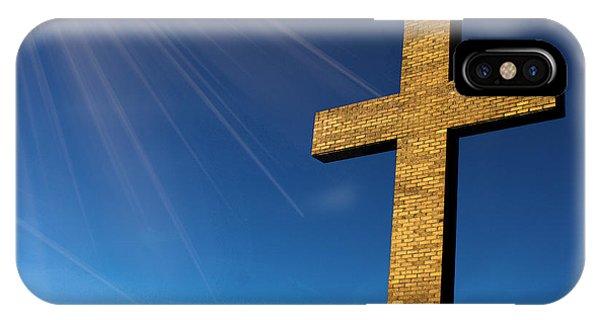Heaven's Cross IPhone Case