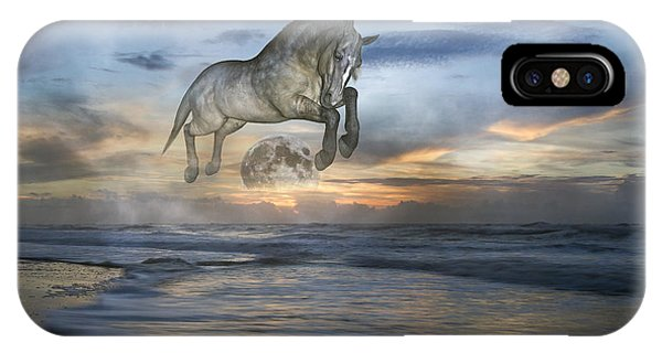 Moon iPhone Case - Heavens In The Sky by Betsy Knapp