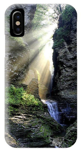 Heaven's Light In Watkins Glen IPhone Case