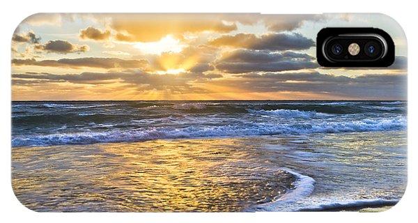 Boynton iPhone Case - Heaven's Skylight by Debra and Dave Vanderlaan