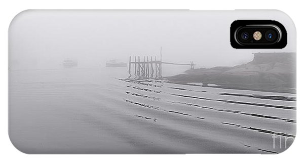 Heavy Fog And Gentle Ripples IPhone Case