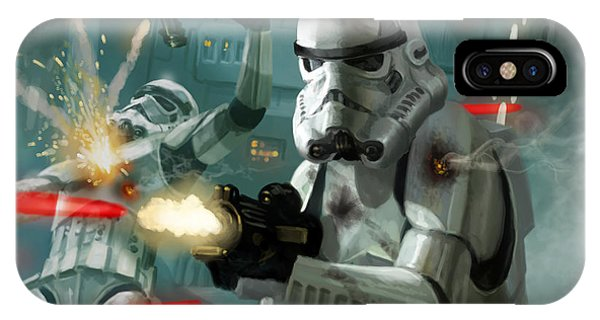 Heavy Storm Trooper - Star Wars The Card Game IPhone Case