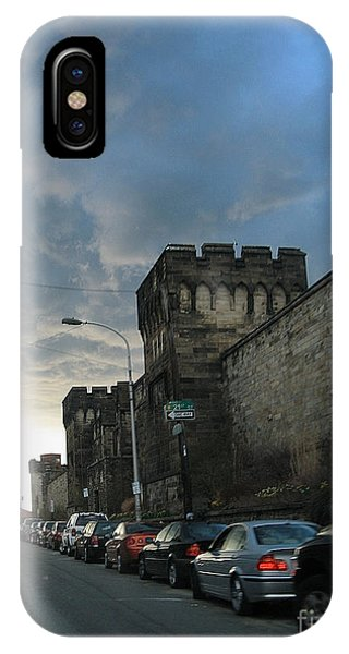 Heavy Weather Over Eastern State IPhone Case