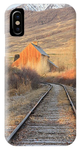 Heber Valley Railroad IPhone Case