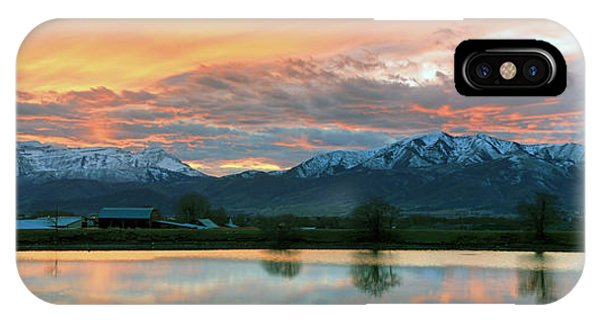 Heber Valley Sunset IPhone Case