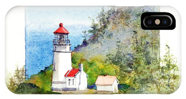 Heceta Head Lighthouse IPhone Case