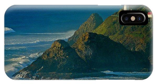 Heceta Head Seascape IPhone Case