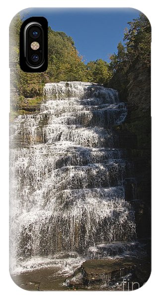 IPhone Case featuring the photograph Hector Falls by William Norton