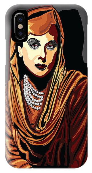 Hedy Lamarr  Hollywood The Golden Age Phone Case by Larry Butterworth