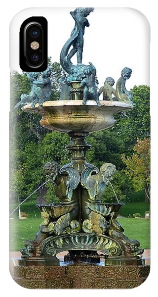 Heffelfinger Fountain IPhone Case