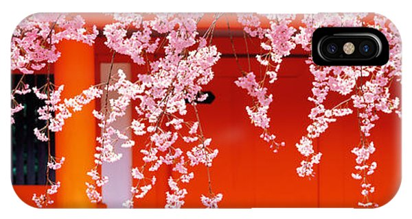 Porches iPhone Case - Heian-jingu Kyoto Japan by Panoramic Images