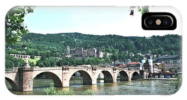 Heidelberg Schloss Overlooking The Neckar IPhone Case