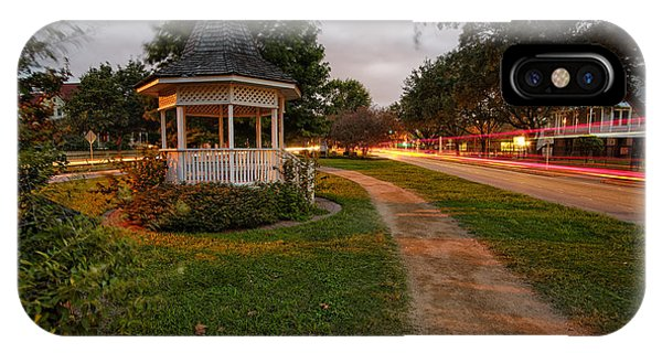 Heights Boulevard Gazebo IPhone Case