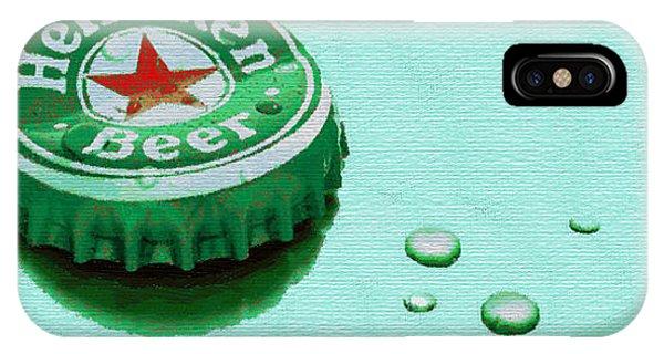 Heineken Cap Green IPhone Case