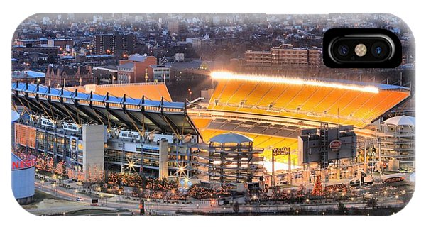 Heinz Field At Night IPhone Case