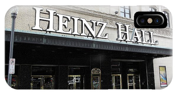Heinz Hall IPhone Case