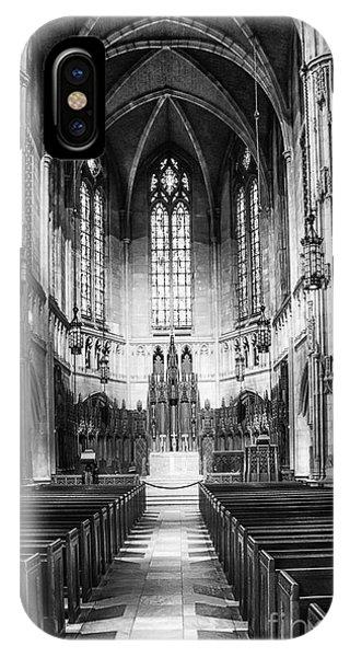 Heinz Memorial Chapel Interior IPhone Case