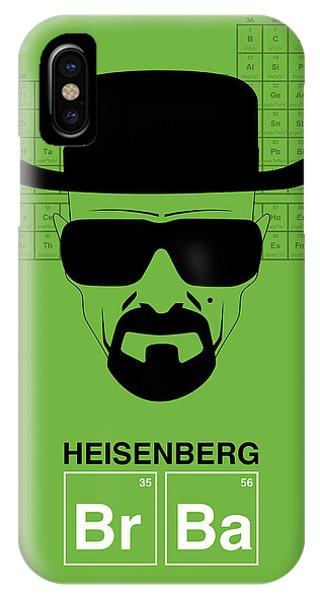 Witty iPhone Case - Heisenberg Poster 2 by Naxart Studio