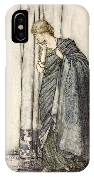 1 iPhone Case - Helena, Illustration From Midsummer by Arthur Rackham