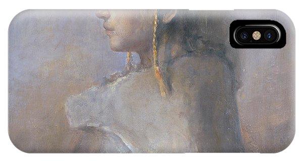Helene In Profile  IPhone Case