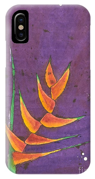 Heliconia IPhone Case