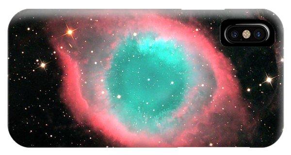 Helix Nebula (ngc 7293) IPhone Case