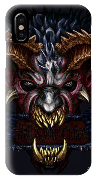 Hell Is Your Choice  IPhone Case