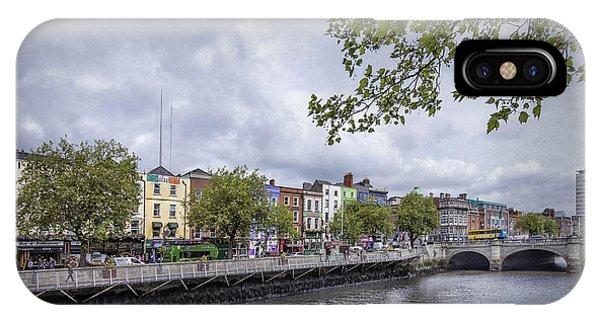 Irish iPhone Case - Hello Dublin by Evelina Kremsdorf