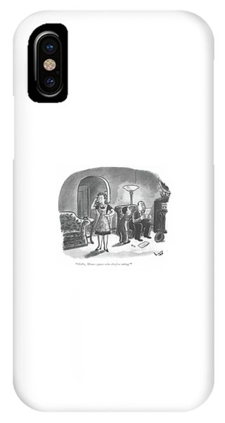 Hello, Mom - Guess Who They're Taking! IPhone Case