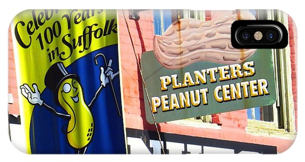 Hello Mr. Peanut IPhone Case