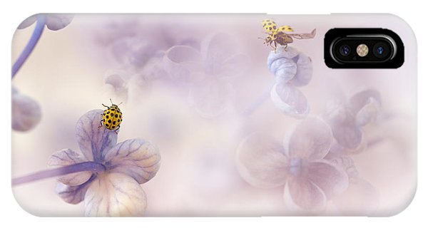 Macro iPhone Case - Hello There... by Ellen Van Deelen