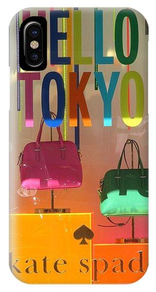 Hello Tokyo IPhone Case