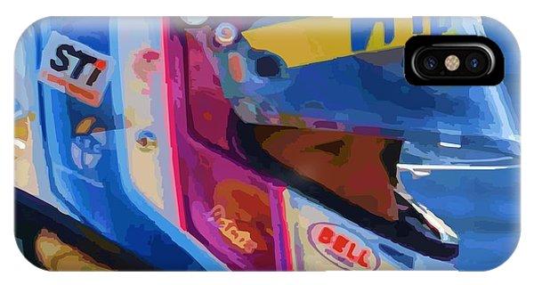 Helmet Of A Female Hero IPhone Case
